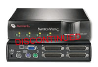 Avocent SwitchView MP 4-Port Multi-Platform KVM