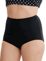 Black full swimwear bottom by Topanga separates 8 or 20