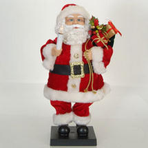 Santa claus animated sterling christmas decoration 24 for Animated santa claus decoration