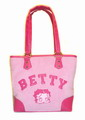 Betty Boop handbag terry cloth bucket bag purse pink