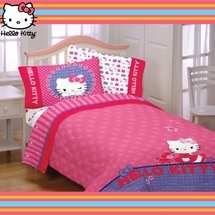 Hello Kitty- Bedding for Girls-Kitty & Me
