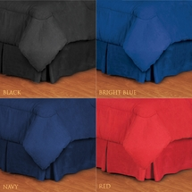 MVP Bed Ruffles- Multiple Colors Available