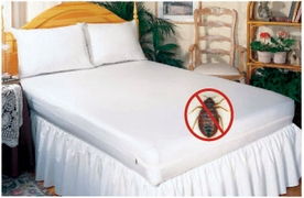 BED BUG SOLUTION Zippered Mattress Covers