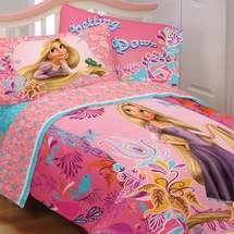 Tangled- Bedding for Girls-Letting My Hair Down Bedding