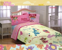 Littlest Pet Shop TOO WORDY Bedding for Girls