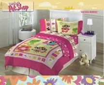 Littlest Pet Shop NATURE BUDDIES Bedding for Girls