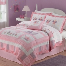 Fairy Princess Garden Quilted Bedding & Accessories