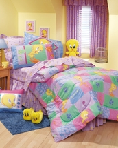 TWEETY'S GARDEN  Kids Bedding for Girls