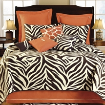 Zebra Expedition Luxurious Quilt Bedding