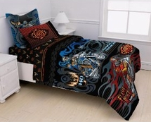 Harley Davidson® Young Riders Bedding for Kids
