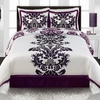 Posh White Comforter Sets