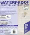 Waterproof Fitted Pad Queen Size