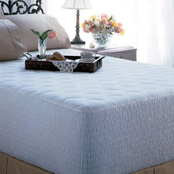 """EXCEPTIONALE 400 THREAD COTTON MATTRESS PAD<BR>""""SIMPLY THE BEST PAD AVAILABLE ANYWHERE"""""""