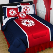 Boston Red Sox Sidelines Bedding