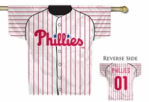 MLB Jersey Style House Flags
