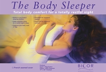 The Body Sleeper Pillow with Cover
