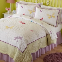Dragonfly Butterfly Quilted Bedding & Accessories