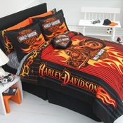 Harley Davidson Bedding & Accessories