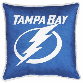 "TAMPA BAY LIGHTNING 17"" Square Pillow"
