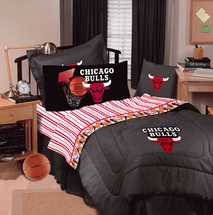 Chicago Bulls Plush Accent Pillow and Accessories