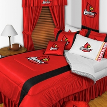 Sidelines LOUISVILLE CARDINALS Bedding and Accessories