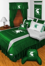 Sidelines MICHIGAN STATE SPARTANS Bedding and Accessories