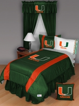 Sidelines MIAMI HURRICANES Bedding and Accessories
