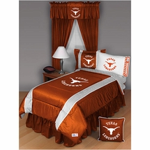 Sidelines Texas Longhorns Bedding and Accessories