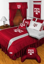 Sidelines TEXAS A&M AGGIES Bedding and Accessories