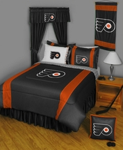 PHILADELPHIA FLYERS NHL Bedding-Sidelines