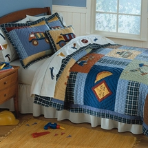 Construction Quilted Bedding & Accessories