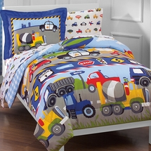 Trucks & Cars  Mini Bed In A Bag Sets
