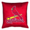 "St Louis Cardinals Pillow 17"" Square-Sidelines"