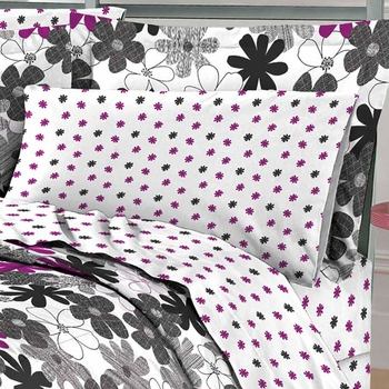 Graphic Daisy Mini Bed In A Bag Sets