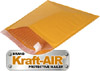 #7 KRAFT BUBBLE MAILER, 100 PCS/CASE