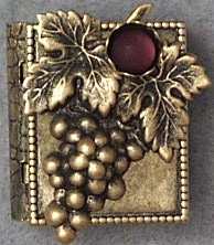 Grapes Storybook Pin or Necklace