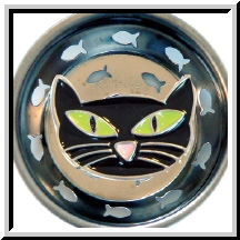 Ms Kitty Enamel Kitchen Sink Strainer