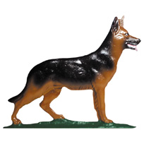 German Shepherd Garden Weathervane