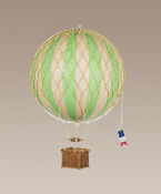 Medium Size Green Hot Air Balloon Model
