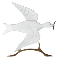 Dove of Peace Garden Weathervane