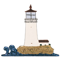 Lighthouse Garden Weathervane