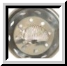 Armadillo Pewter Kitchen Sink Strainer