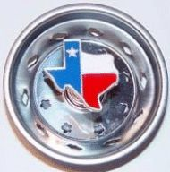 Enamel Kitchen Strainer Texas Flag