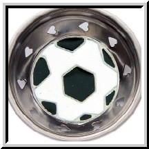 Soccer Ball Enamel Kitchen Sink Strainer