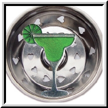 Lime Margarita Kitchen Sink Strainer