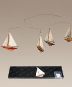 A-Cup Sailboat Model Ship Mobile