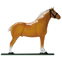 Draft Horse Clydesdale Garden Ornament