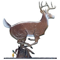 Buck Stag Deer Garden Weathervane
