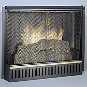 Pull Screen for Smokeless Real Flame Fireplace