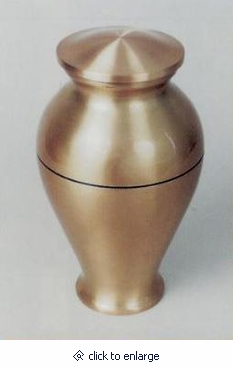 Nova II Contemporary Vase Cremation Urn